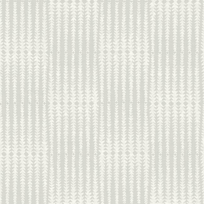 Vantage Point Peel & Stick Wallpaper in Grey by Joanna Gaines for York Wallcoverings