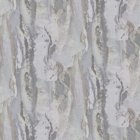 Vapor Stone Wallpaper in Silver from the Polished Collection by Brewster Home Fashions