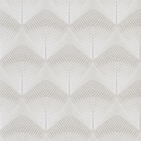 Veren Wallpaper in Linen from the Tulipa Stellata Collection by Designers Guild