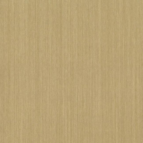 Vertical Silk Wallpaper in Golden Tan from the Grasscloth II Collection by York Wallcoverings