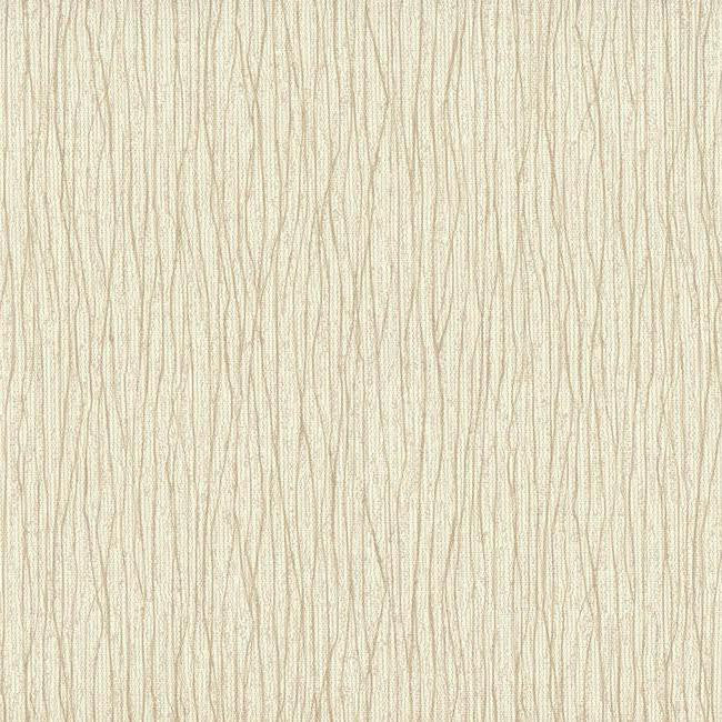 Vertical Strings Wallpaper in Ivory and Neutrals design by York Wallcoverings