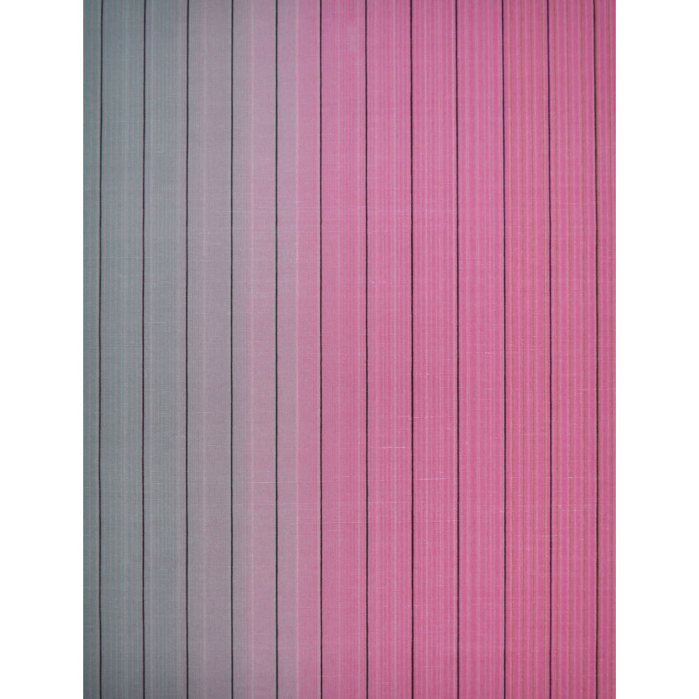 Vertical Stripe Wallpaper In Jade And Pink By Missoni Home