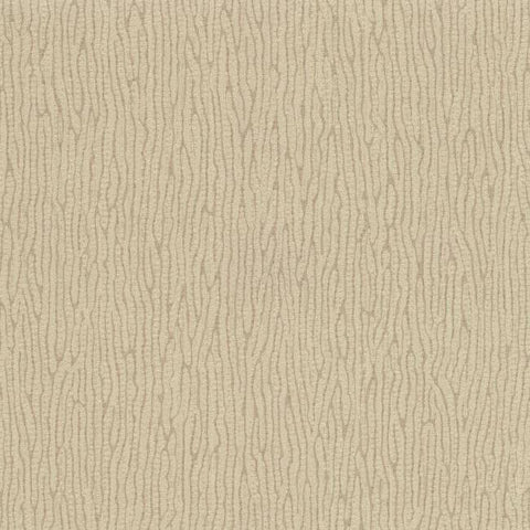 Vertical Weave Wallpaper in Grey and Pale Metallic design by York Wallcoverings