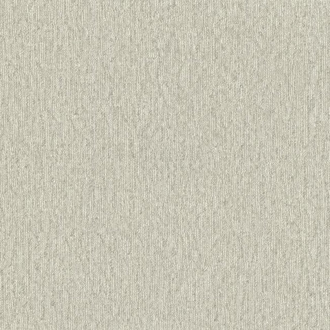Vertical Woven Wallpaper in Grey design by York Wallcoverings