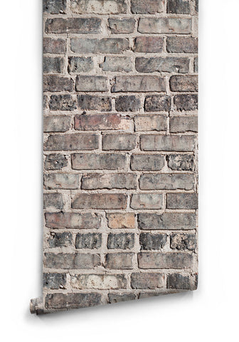Sample Vintage Bricks Boutique Faux Wallpaper design by Milton & King