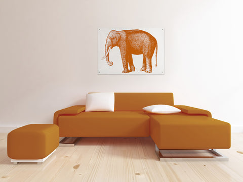 Elephant Canvas Wall Panel design by Thomas Paul