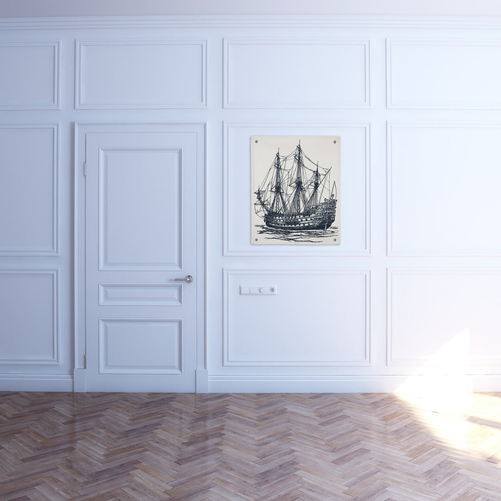 Ship Canvas Wall Panel design by Thomas Paul
