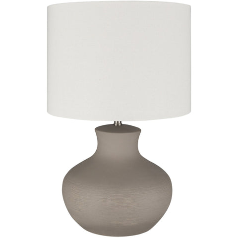 Warren WAE-002 Table Lamp in Cream & Taupe by Surya