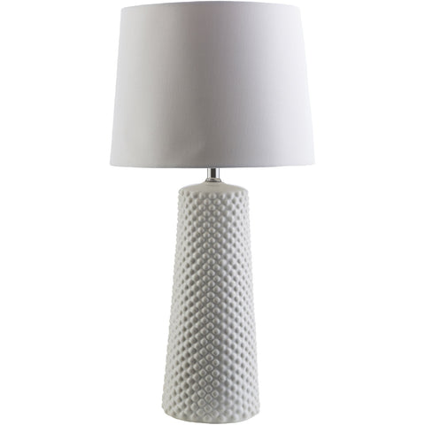 Wesley WAS-147 Table Lamp in Ivory & White by Surya