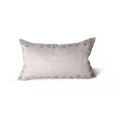 Gobi Rosette Border Pillow design by Bliss Studio