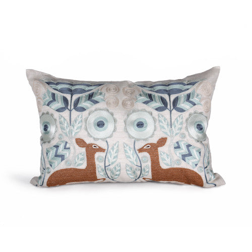 Deco Deer Pillow design by Bliss Studio