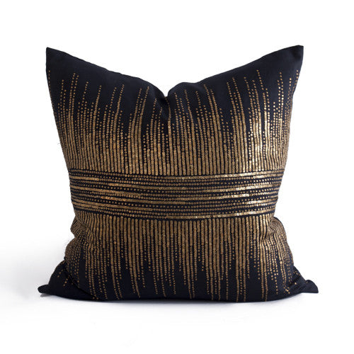 Vionnet Pillow in Brown design by Bliss Studio
