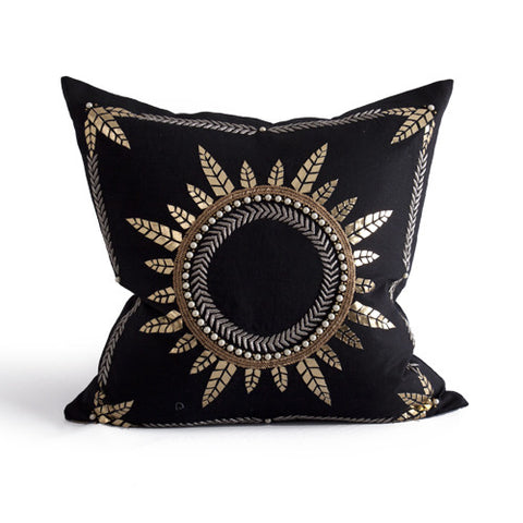 Madras Pillow design by Bliss Studio