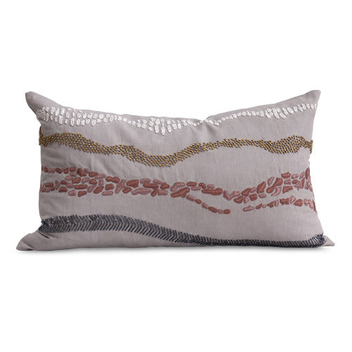 Celeio Pillow in Light Ash design by Bliss Studio