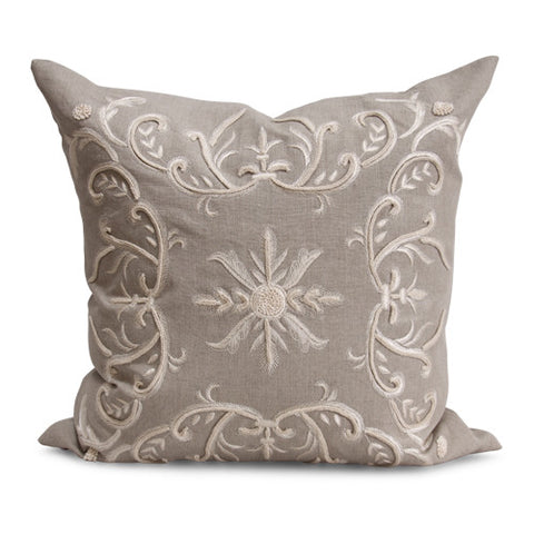 Harlow Pillow in Vanilla design by Bliss Studio