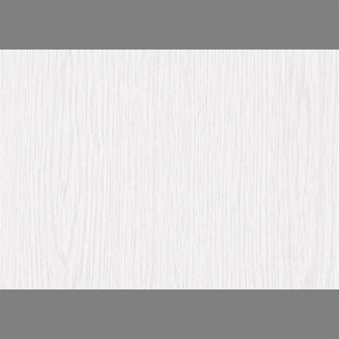 Whitewood Self-Adhesive Wood Grain Contact Wall Paper by Burke Decor