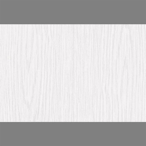 Whitewood Satin Self-Adhesive Wood Grain Contact Wall Paper by Burke Decor