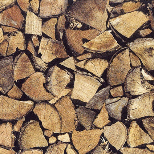 Firewood Self-Adhesive Wood Grain Contact Wall Paper by Burke Decor