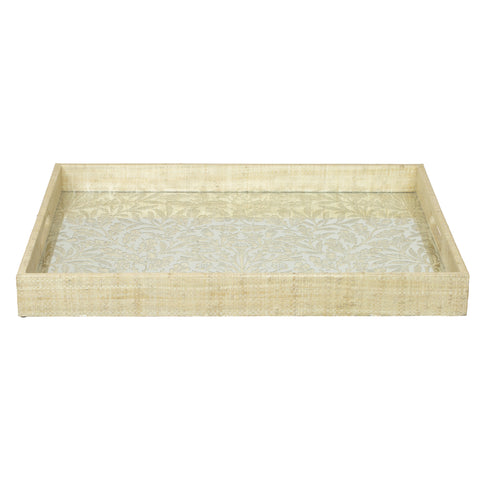 Acorn Mirrored Tray in Various Colors by Selamat