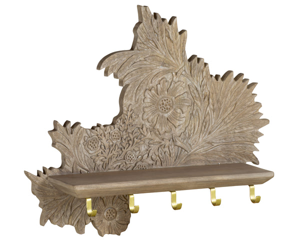 Marigold Wall Shelf by Morris & Co for Selamat