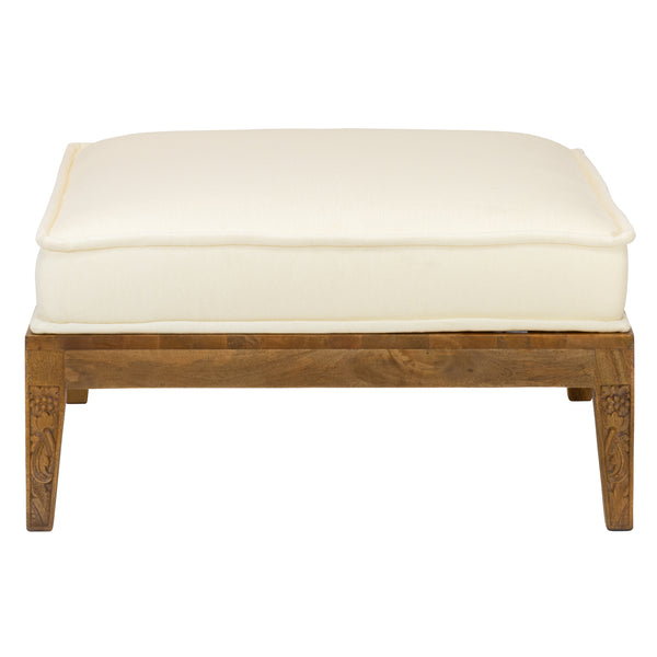 Thistle Ottoman by Morris & Co. for Selamat