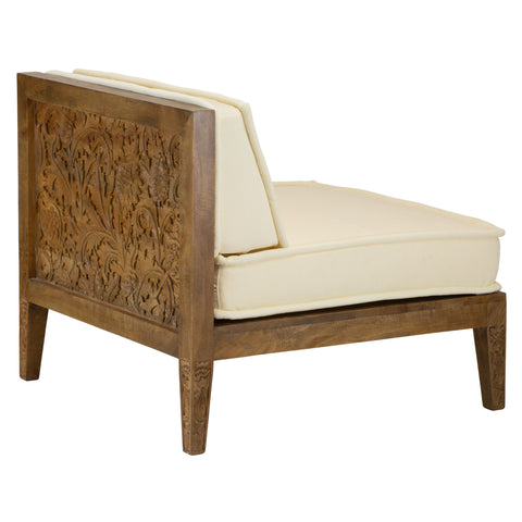 Thistle Slipper Chair by Morris & Co. for Selamat