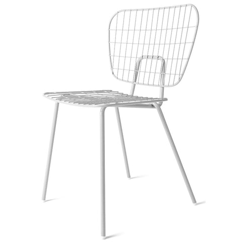 Set of 2 Studio WM String Dining Chair in White design by Menu