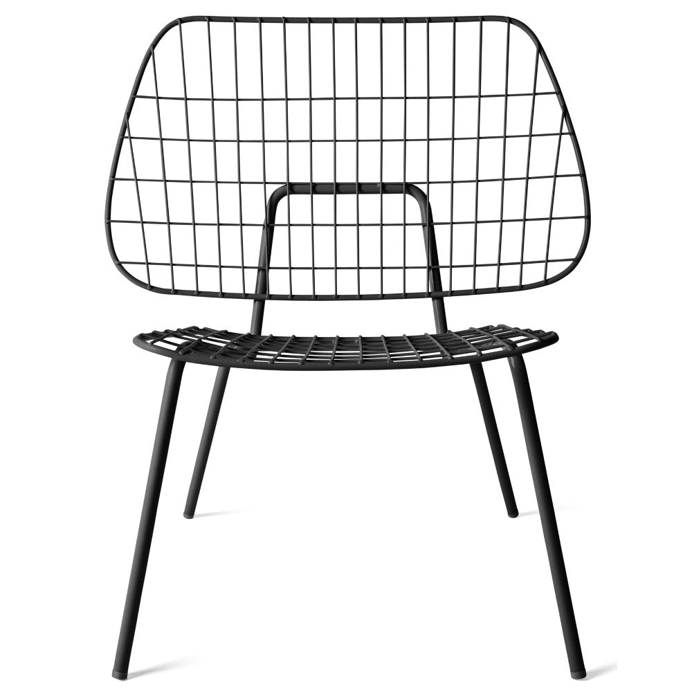 Studio WM String Lounge Chair in Black design by Menu