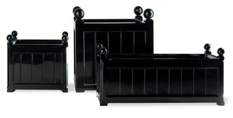 Windsor Planters in Black or White design by Capital Garden Products