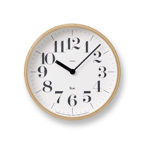 Riki Small Clock design by Lemnos