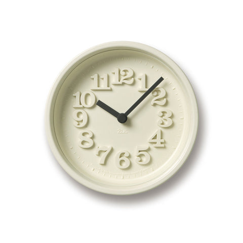 Chiisana Clock in White