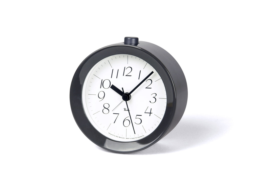 Riki Alarm Paint Clock in Grey design by Lemnos