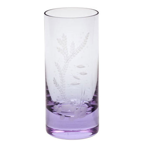 Ocean Life Color Whisky Hiball Glass in Various Colors