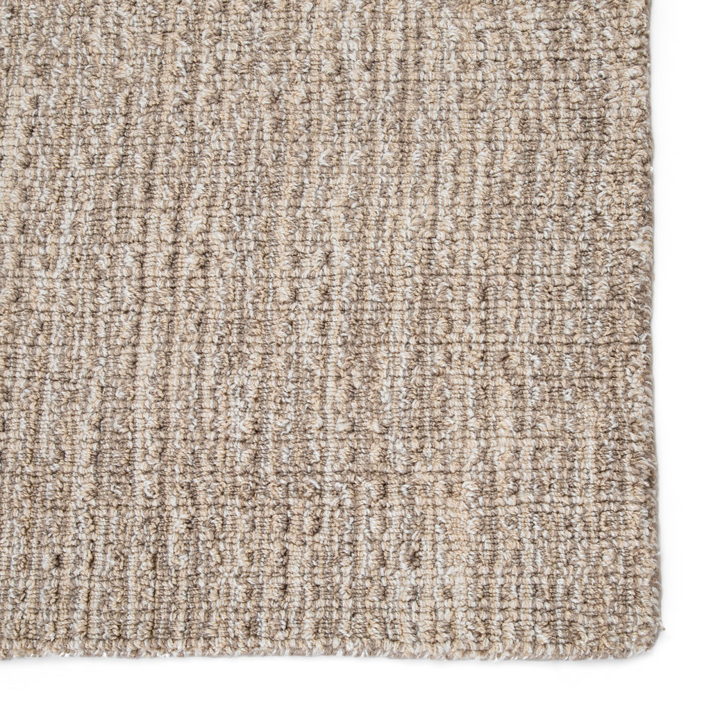 Jardin Indoor/ Outdoor Solid Gray/ White Rug by Jaipur Living