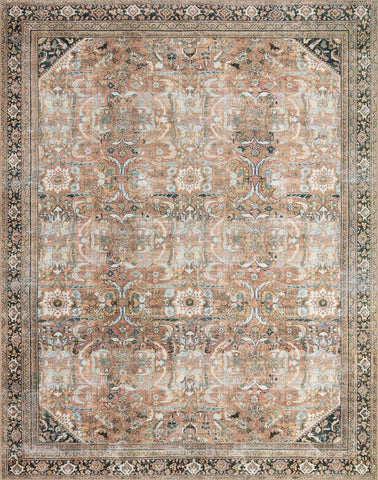 Wynter Rug in Auburn / Multi by Loloi II