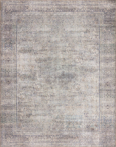 Wynter Rug in Silver / Charcoal by Loloi II