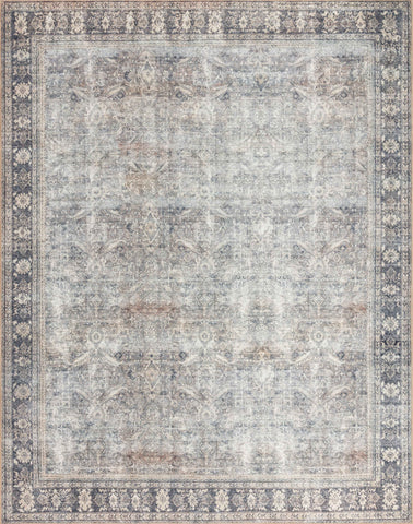 Wynter Rug in Grey / Charcoal by Loloi II
