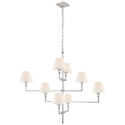 Jane Large Offset Chandelier by Alexa Hampton