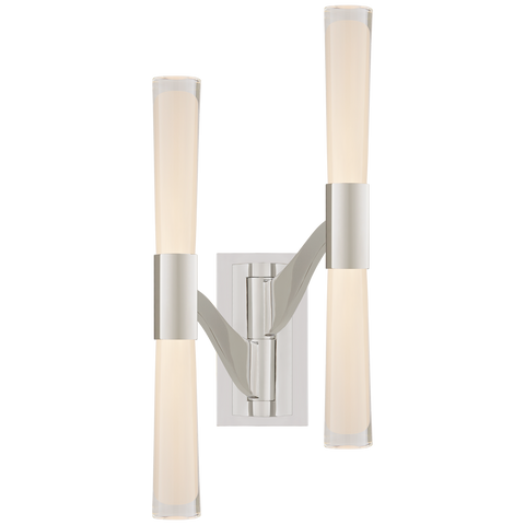 Brenta Large Double Articulating Sconce by AERIN