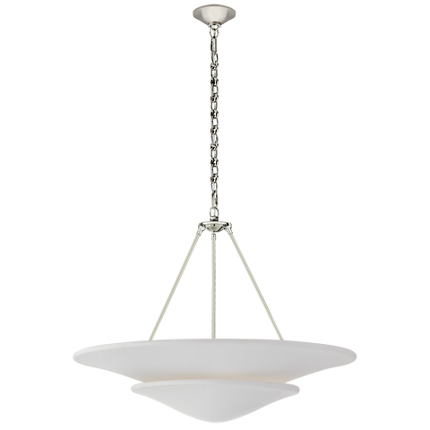 Mollino Large Tiered Chandelier by AERIN