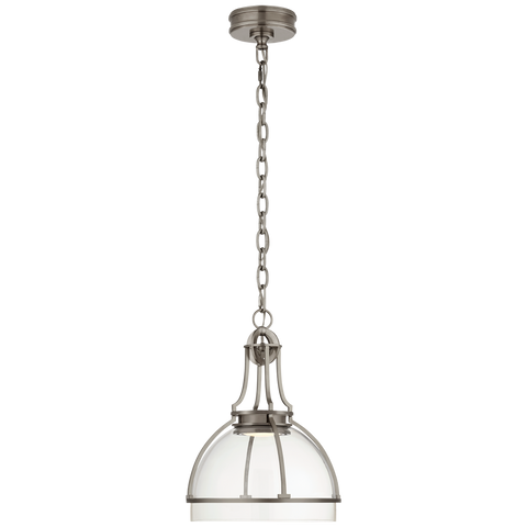 Gracie Medium Dome Pendant by Chapman & Myers