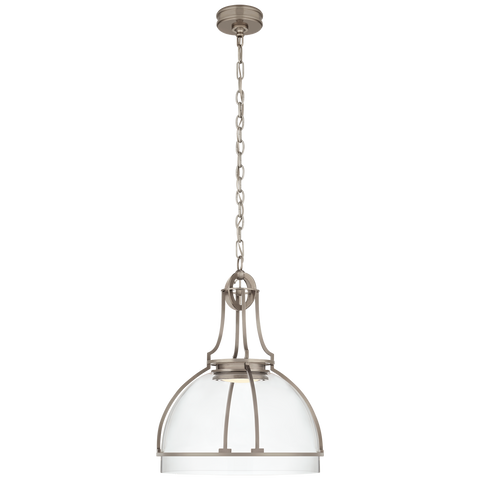 Gracie Large Dome Pendant by Chapman & Myers