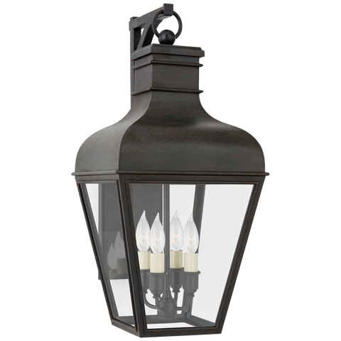 Fremont Small Bracketed Wall Lantern by Chapman & Myers