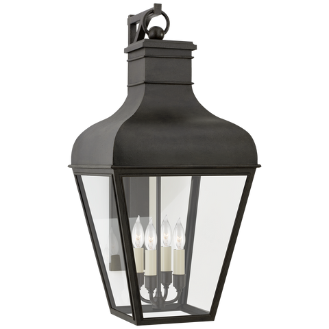 Fremont Large Bracketed Wall Lantern by Chapman & Myers