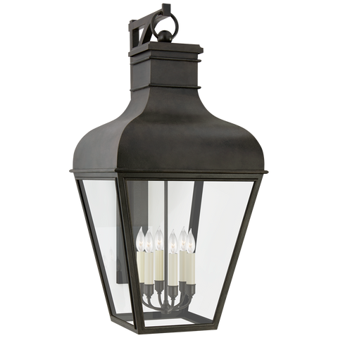 Fremont Grande Bracketed Wall Lantern by Chapman & Myers