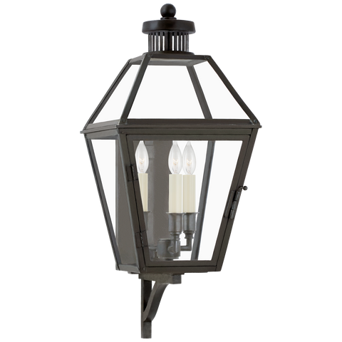 Stratford Small Bracketed Wall Lantern by Chapman & Myers