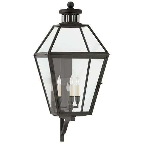 Stratford Medium Bracketed Wall Lantern by Chapman & Myers