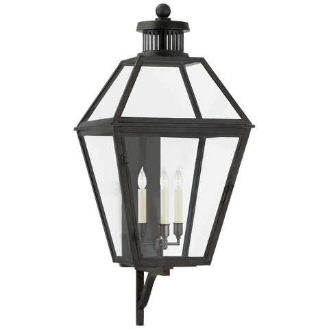 Stratford Large Bracketed Wall Lantern by Chapman & Myers