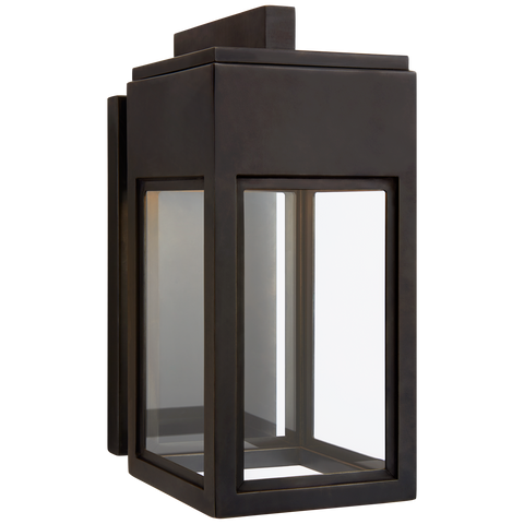 Irvine Small Bracketed Wall Lantern by Chapman & Myers