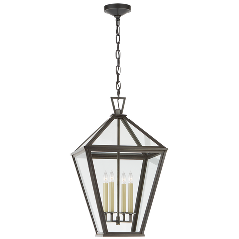 Classic Darlana Large Hanging Lantern by Chapman & Myers